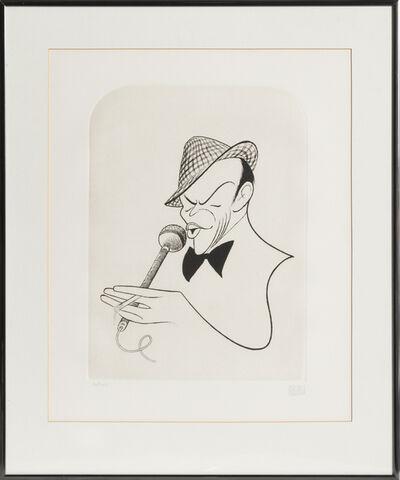 Al Hirschfeld, 'Frank Sinatra', 1984