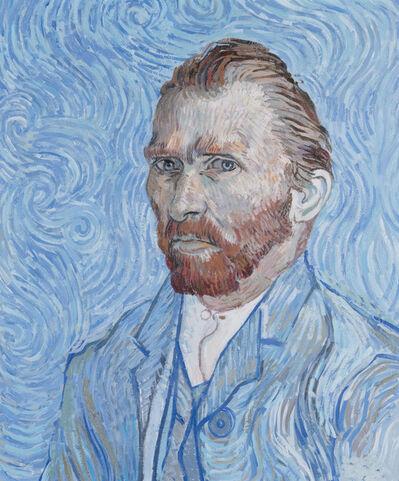 John Myatt, 'Freehand Copy Of Vincent Van Gogh's Self Portrait St Remy 1889 (626)', 2021