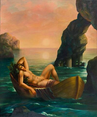 Carlo Maria Mariani, 'Sophrosyne', 1982