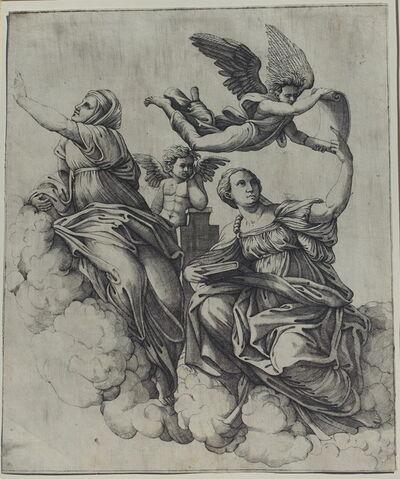 Marcantonio Raimondi, 'Theology and Metaphysics', 1520-1525