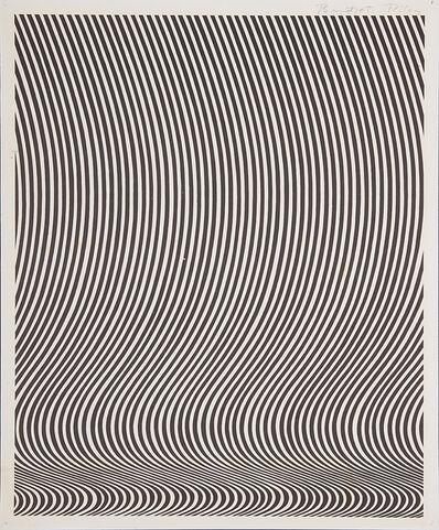 Bridget Riley, 'Untitled (New York: Robert Feigen Gallery)', 1965
