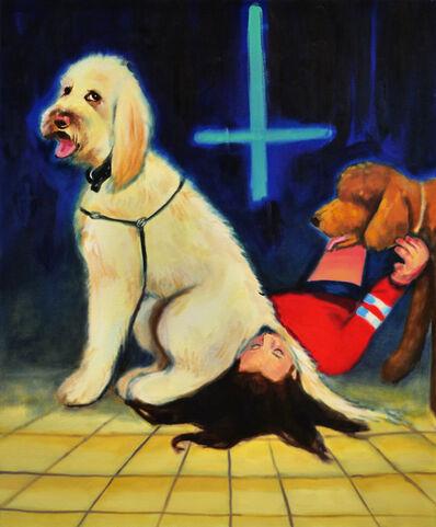 Izabella Volovnik, ' The Antichrist, 2019, oil on canvas, 120x100 cm ', 2019