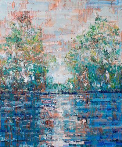 Hunt Slonem, 'Untitled (Bayou)', 2019