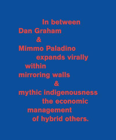 Pedro Neves Marques, 'In between Dan Graham & Mimmo Paladino....', 2011