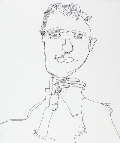 Steven Liu, 'After Egon Schiele, I', 2017