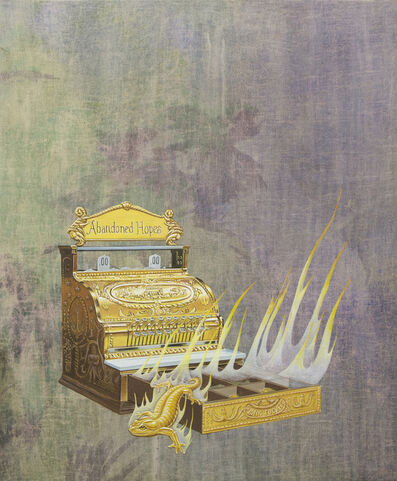 Jim Shaw, 'Alchemical Cash Register', 2015