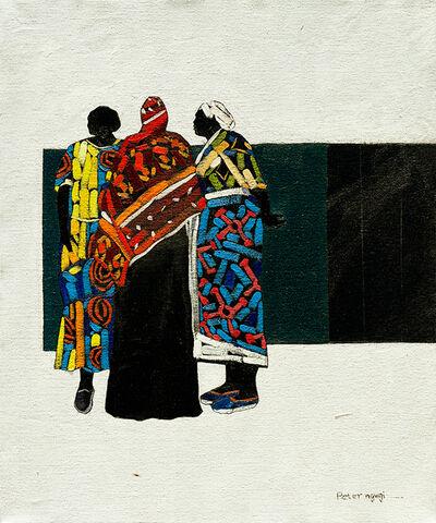 Peter Ngugi, 'Accomplice VI', 2018
