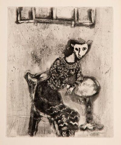 Marc Chagall, 'La chatte métamorphosée en femme, from Jean de La Fontaine, Fables', 1952