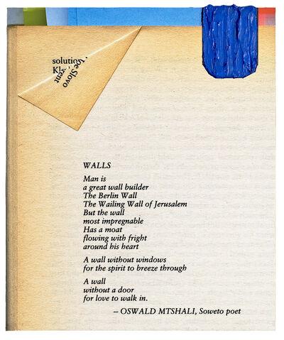 Jo Smail, 'Walls', 2017