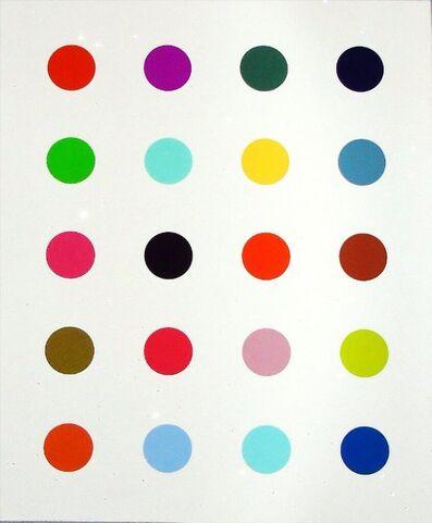 Damien Hirst, '3-Methythimadine', 2014
