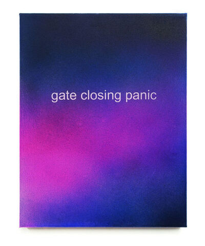 Allison L. Wade, 'Gate Closing Panic', 2015