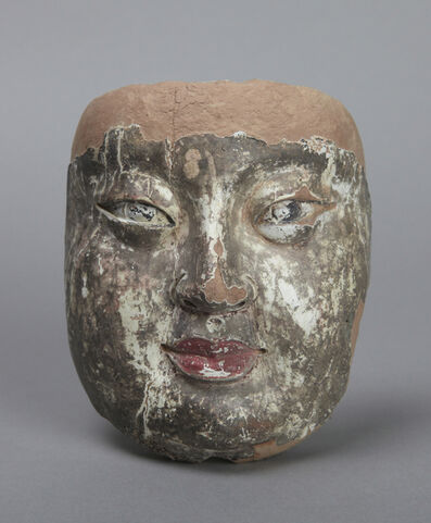 'Face of Ananda, an attendant of the Buddha', 700-750