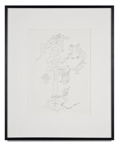 Bruce Conner, 'UNTITLED (JESUS)', 1962