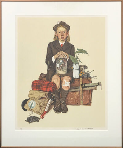 Norman Rockwell, 'HOME FROM CAMP', 1976
