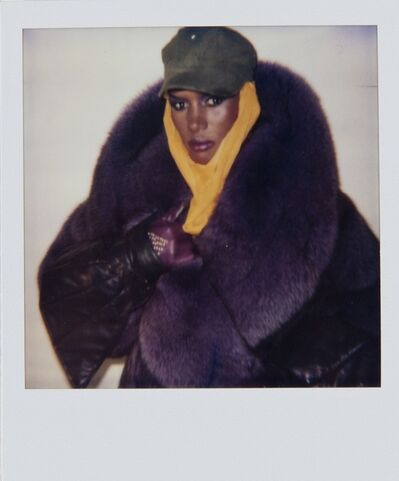 Andy Warhol, 'Andy Warhol, Polaroid Portrait of Grace Jones', 1984