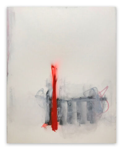 Tommaso Fattovich, 'Stazione Centrale (Abstract painting)', 2019