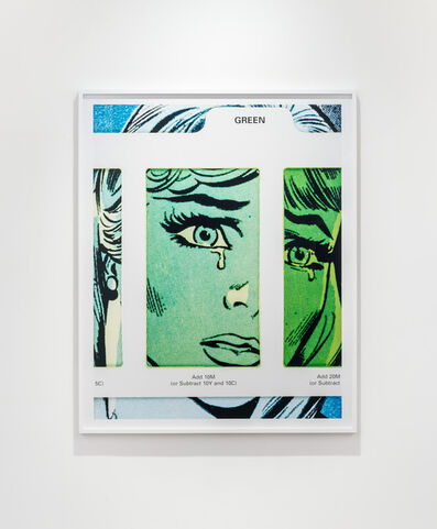 Anne Collier, 'Filter #3 (Green)', 2020