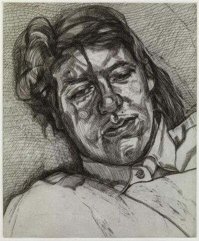 Lucian Freud, 'Bella', 1987