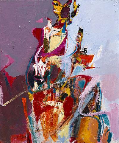 Ko shih chung, 'Women & Flower_1', 2017