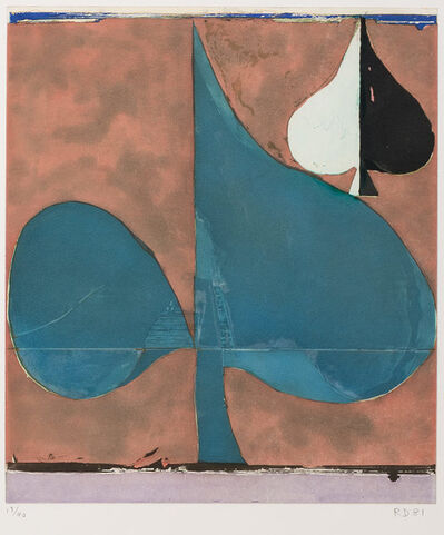 Richard Diebenkorn, 'Combination', 1981
