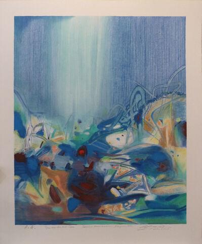 Chu Teh-Chun, ' Tout coude', 1998