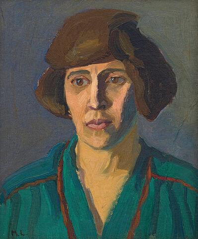 Maggie Laubser, 'Portrait of a Woman'