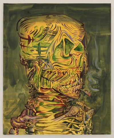 James Esber, 'Untitled (Smoking Skeleton)', 2015