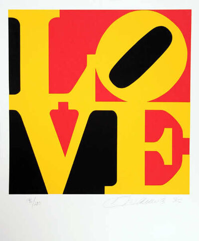 Robert Indiana, 'The Book of Love #9', 1991