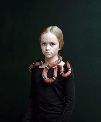 Bettina von Zwehl, 'Bloodlines series, Sari (Lampropeltis Triangulum Nelsoni) ', 2016