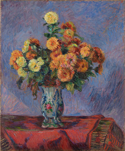 Armand Guillaumin, 'Bouquet de fleurs', c.1900