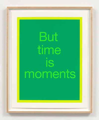 Renée Green, 'But time is moments', 2020