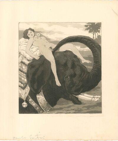 Emil Sartori, 'Erotic Scene IV - Illustration', 1907
