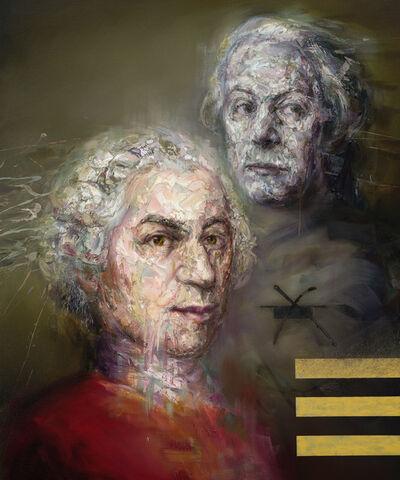 Mathieu Laca, 'Wolfgang and Leopold Mozart', 2019