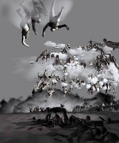 Miao Xiaochun 缪晓春, 'The Last Judgement, The Rear View', 2006