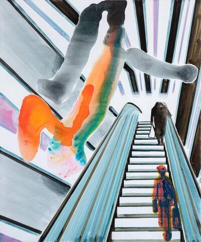 John Kørner, 'Action on the Escalator', 2020