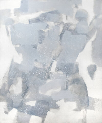 Carl Holty, 'Untitled (Gray, White)', 1971