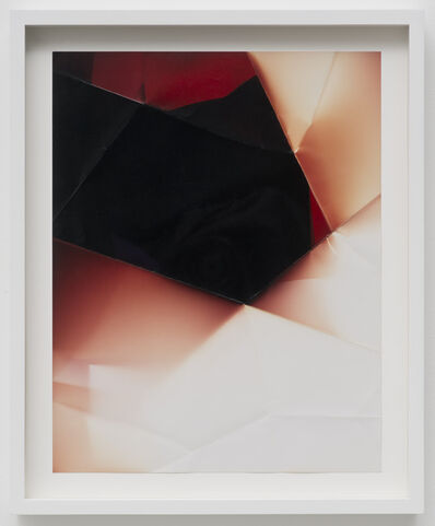 Walead Beshty, 'Two Sided Picture (YR), January 12th 2007, Valencia, California, Fujicolor Crystal Archive', 2013
