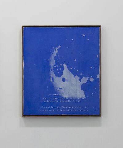John Latham (1921-2006), 'Presumed Level of Abstraction', 1974