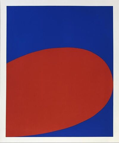 Ellsworth Kelly, 'Red/Blue from Ten Works by Ten Painters portfolio', 1964