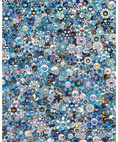 Takashi Murakami, 'Zero One', 2020