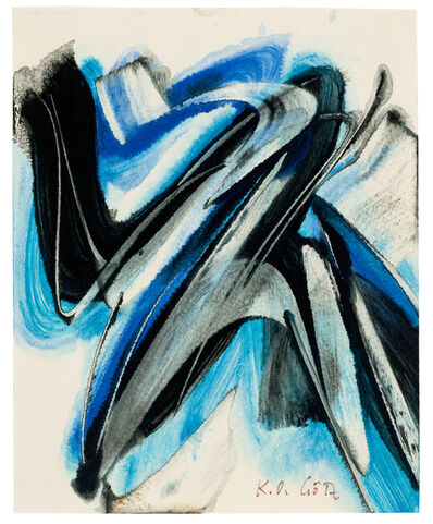 Karl Otto Götz, 'Ohne Titel', 1954