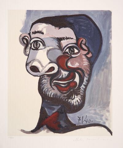 Pablo Picasso, 'Tete de Homme, 1940', 1979-1982