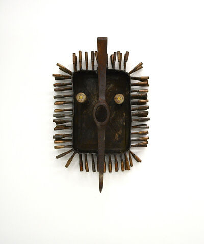 Gonçalo Mabunda, 'Untitled Mask 23', 2016