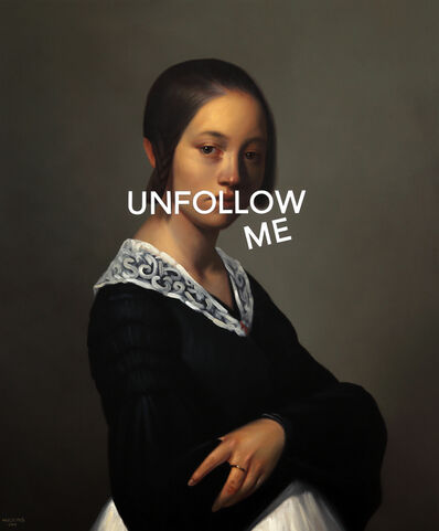 Shawn Huckins, 'Portrait of Louise-Antoinette Feuardent: Unfollow Me', 2019