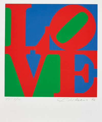 Robert Indiana, 'Book of Love: one plate', 1996