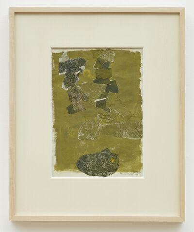 Sonja Sekula, 'Étude d'août', 1959