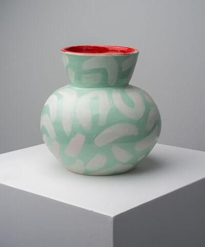 Anna Valdez, 'Seafoam Leopard Vase', 2019