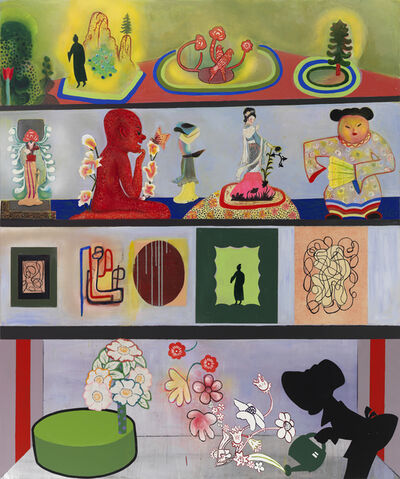 Phyllis Bramson, 'The Collector's Collection (All That He Owns!)', 2014-2015