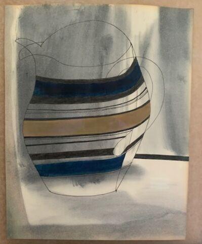 Ben Nicholson, 'Striped Jug', 1979