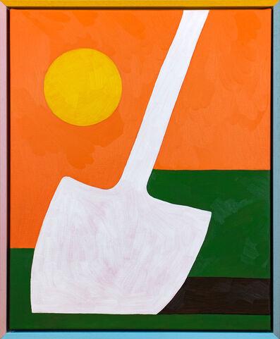 Jordy van den Nieuwendijk, 'Shovel in Grass', 2018